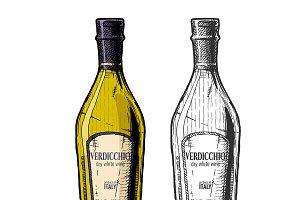 Verdicchio, dry white wine