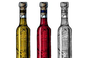 illustration of Ice wine