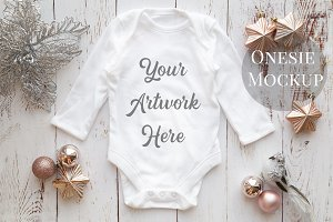 Long Sleeved Babygrow, All-In-One