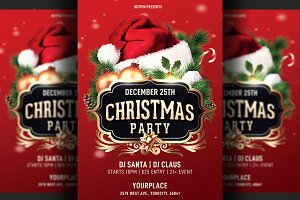 Christmas Party Flyer | Instagram