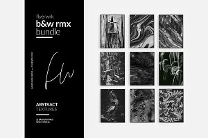 B&W rmx - Abstract Textures