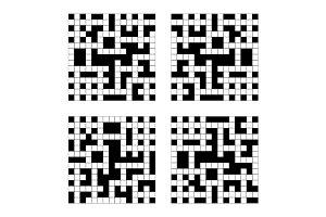 Crossword Grid Set
