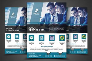 Business Planner Flyers Print Templa