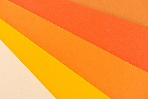 close-up shot of colorful paper laye