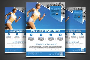 Fitness Flyer - Gym Flyer Print Temp