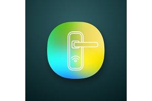 NFC door lock app icon
