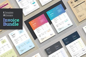 Excel Invoice Bundle | Save 80%