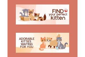 Pets adopt find friendship poster