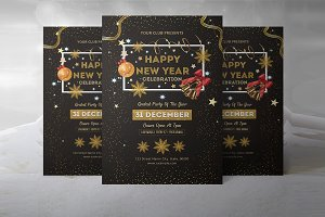 New Year Party Flyer - V901