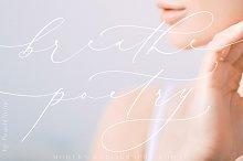 Breathe Poetry // Typography №17