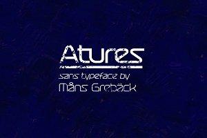 Atures - 24-style Sans Font