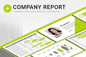 Company Report Google Slides Templat