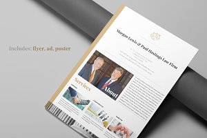 Law Firm Flyer package
