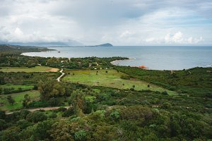 Sardinian Coastline Landscape