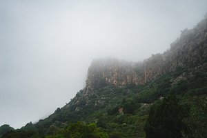 Sardinian Foggy Mountain