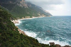 Sardinian Stormy Sea