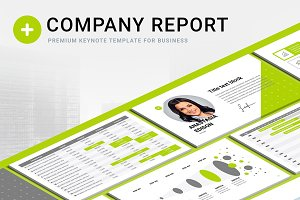 Company Report Keynote Template