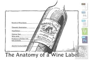 Wine Label Anatomy