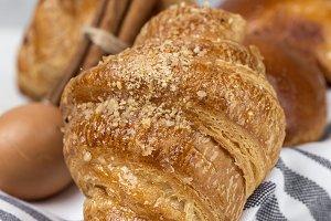 Fresh Croissants and Brioches