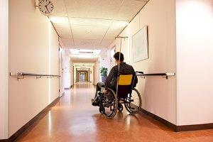 alone in hospital