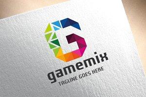 Letter G - Gamemix Logo