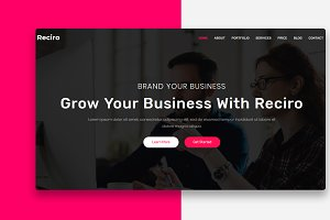 Reciro - Modern & Creative Agency