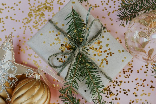 Holiday Stock Photos - SPARKLY CHRISTMAS