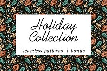 Holiday Patterns collection by  in Patterns