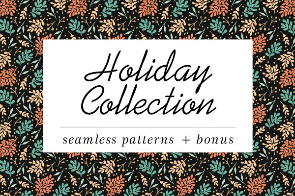 Patterns: Ola-la-la - Holiday Patterns collection
