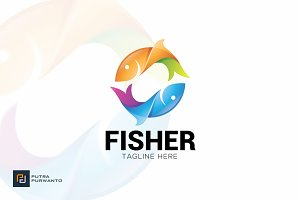 Fisher - Logo Template