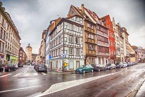 Petit-France - part of old town, Str