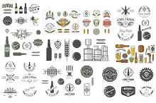 Over  50 beer labels pack bundle.