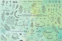Hand Drawn Nature Elements