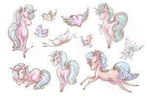 Unicorns and friends