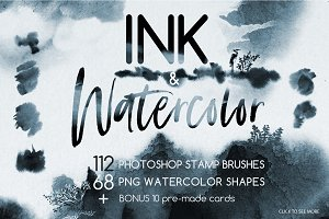 Ink & Watercolor Brushes