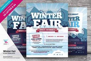 Winter Fair Flyer Templates