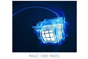 Magic cube-rubik.