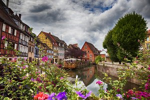 water panorama in Colmar