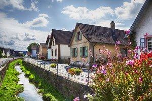 Germany village,  Baden-Baden region