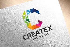 Letter C - Createx Logo
