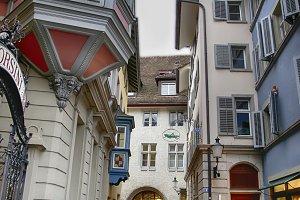 historical center of Zurich