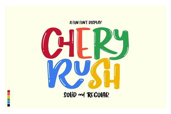 CHERY RUSH: fun display!
