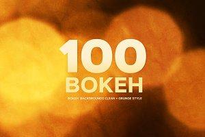 100 Bokeh Backgrounds