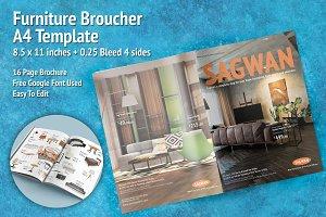 Furniture Broucher A4 Template