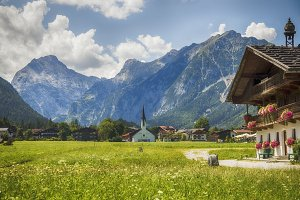 country side living in area Achensee