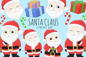 Santa Claus Christmas Illustrations