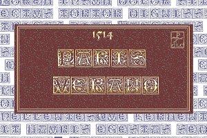 1514 Paris Verand Initials