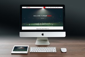 PlayMark - Sports Website Template