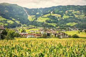 Tyrol nature, area Fugen, Austria