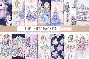 THE NUTCRACKER digital papers